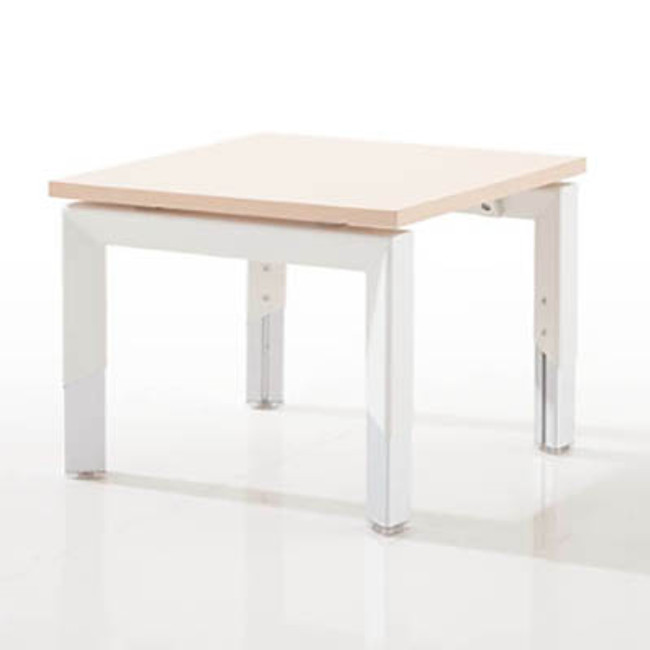 Oblique Height Adjustable Coffee Table - Soft Maple