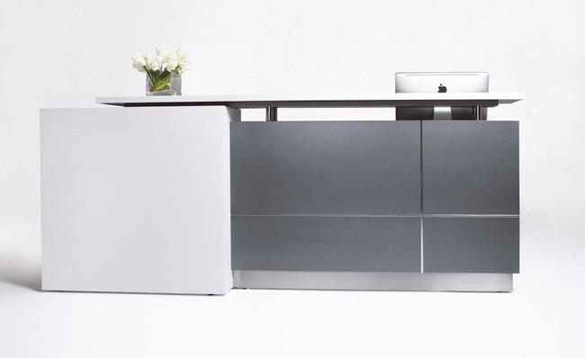 Calvin Modern Reception Counters Units