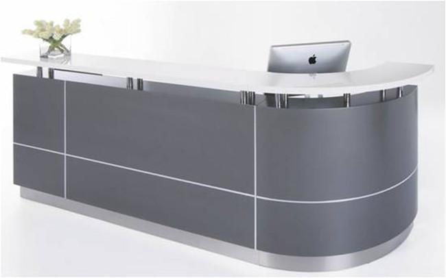 Executive J-Shape Reception Counter Units