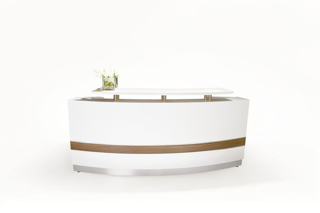 Conservatory Curved Reception Counter Units