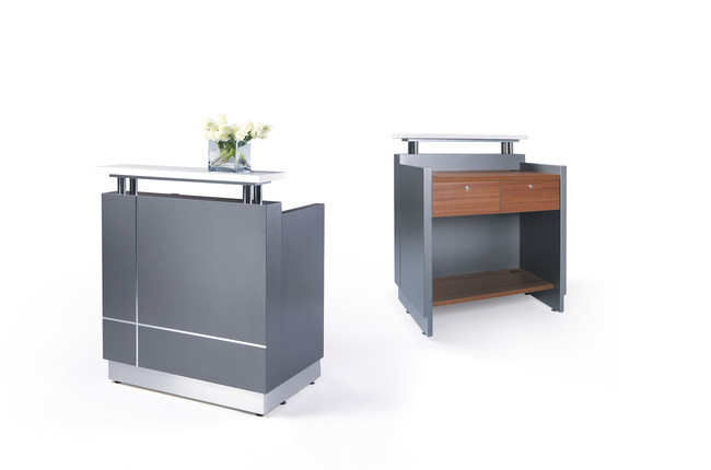 Receptionist Small Reception Counter Unit