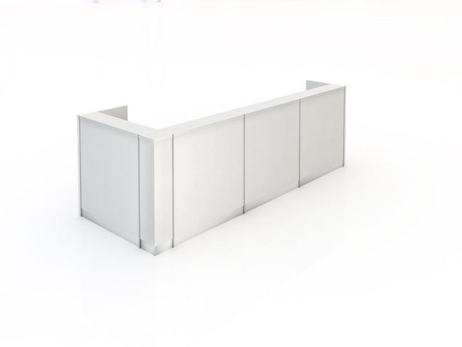 Kent 122 Large Corner Reception Counter