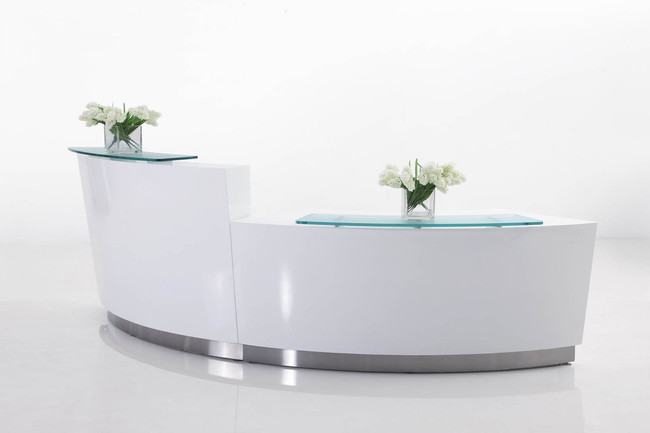 Evo Two Person Reception Counter