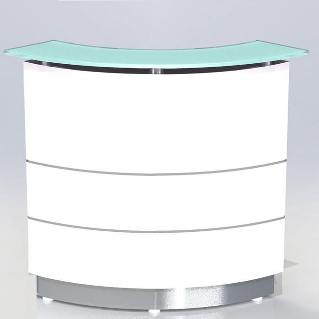 Polaris Corner Reception Counter / Font Desk Units