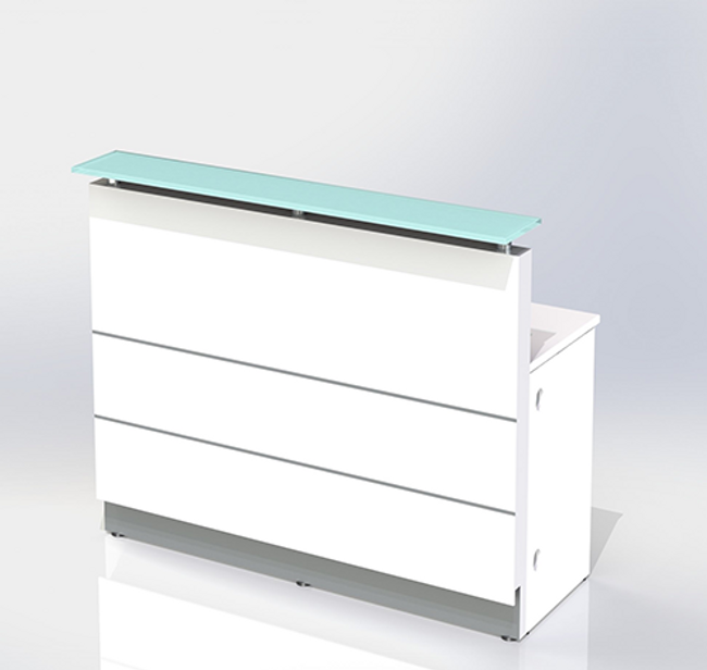 Polaris Straight Reception Counter / Front Units