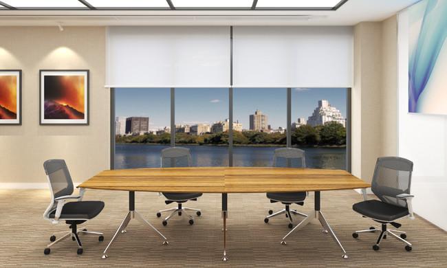 Novara Large Boardroom Table for 10 People