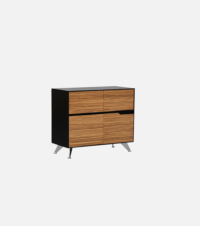 Novara 4 Drawers Storage Cabinet