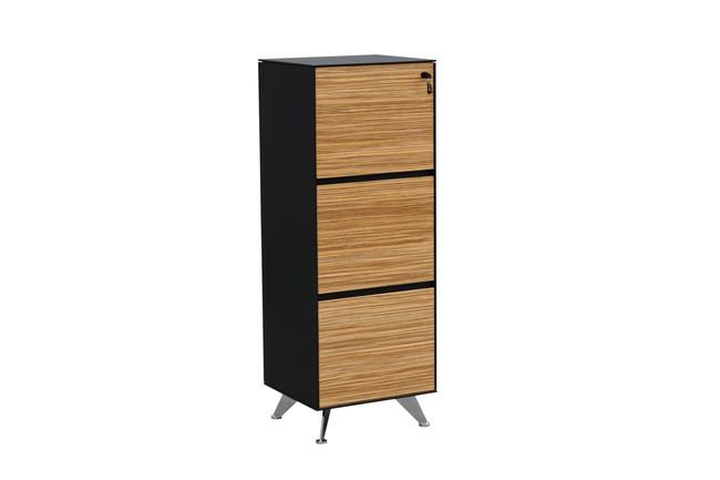 Novara 3 Drawers Office Filing Cabinet