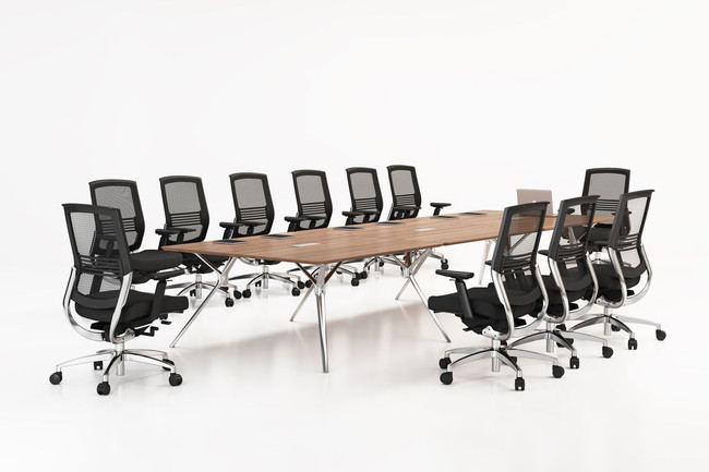 Forza Large Executive Boardroom Table - 8 to 14 People