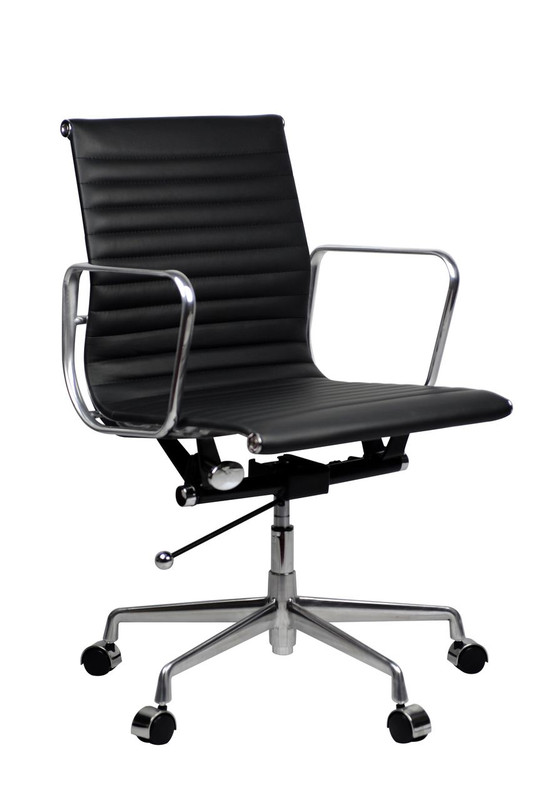 Aero Genuine Leather Chair - High / Mid Back Options