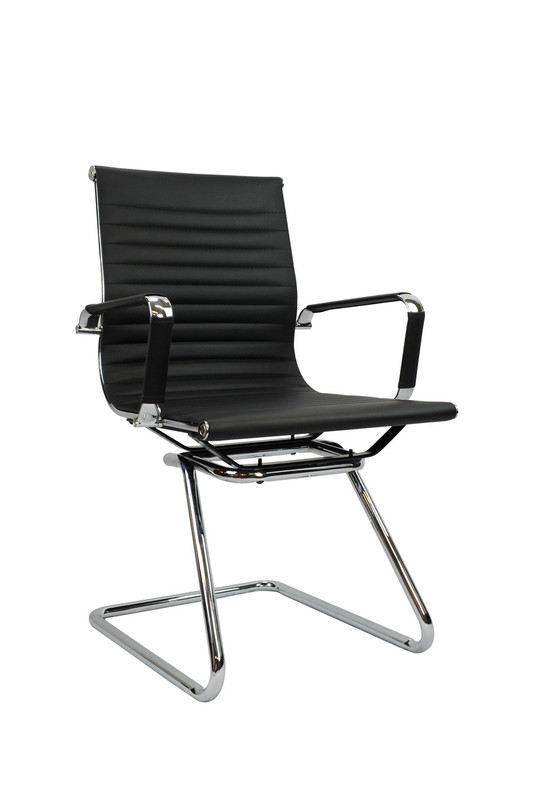 Aero Genuine Leather Cantilever Chair - Visitor / Training Room