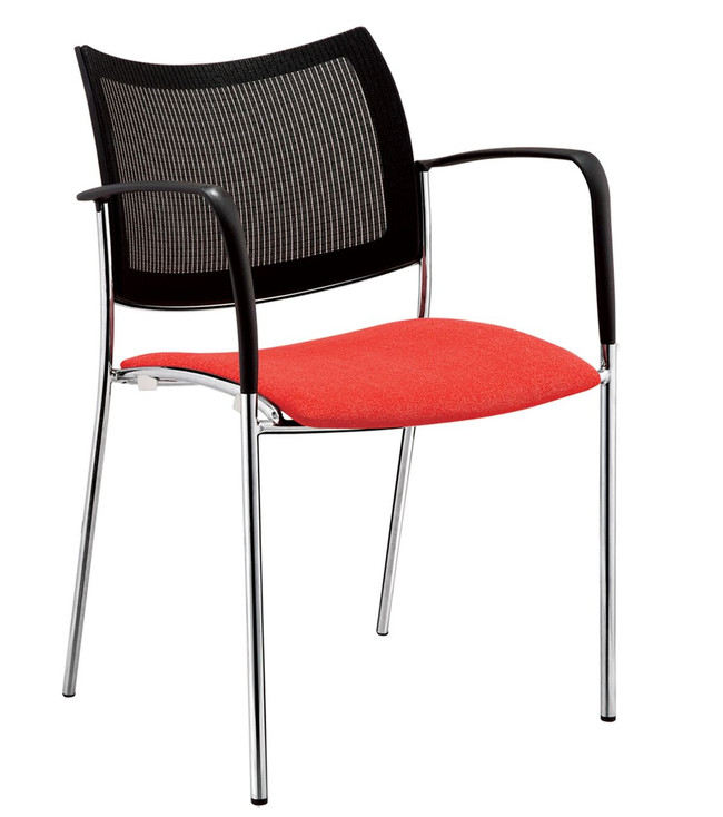 Element 4 Legs Mesh Back Visitor Chair