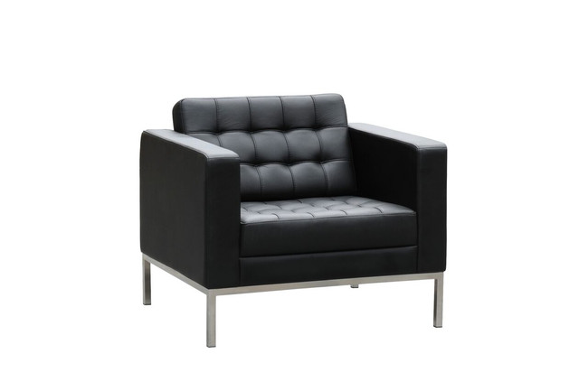 Como Classic Luxury Leather Lounge - Single / Double / Triple Seater