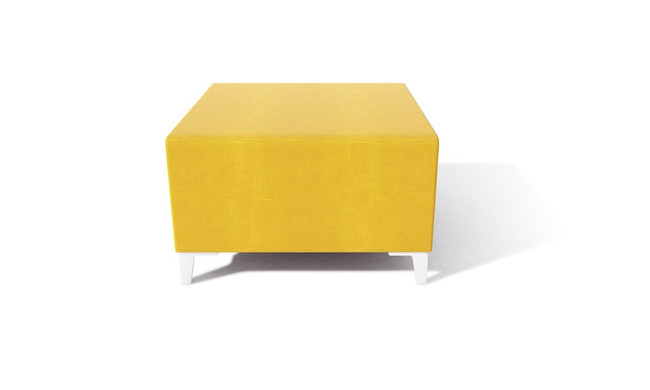 Simple Square Soft Seating Stool