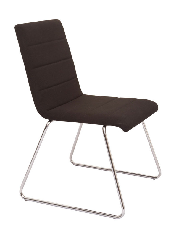 WFV100 Fabric Sled Base Visitor Chair