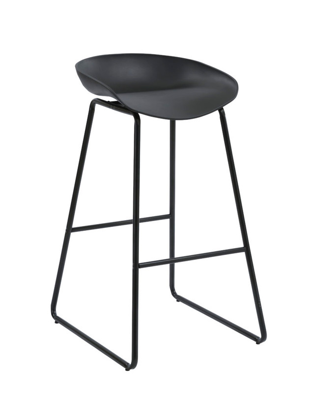 Aries Bar Stool - Metal Leg - 3 Colours Available