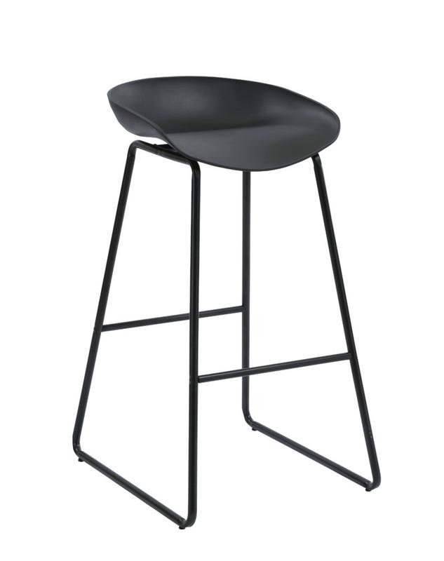 Aries Bar Stool - Metal Leg - 3 Colours Available