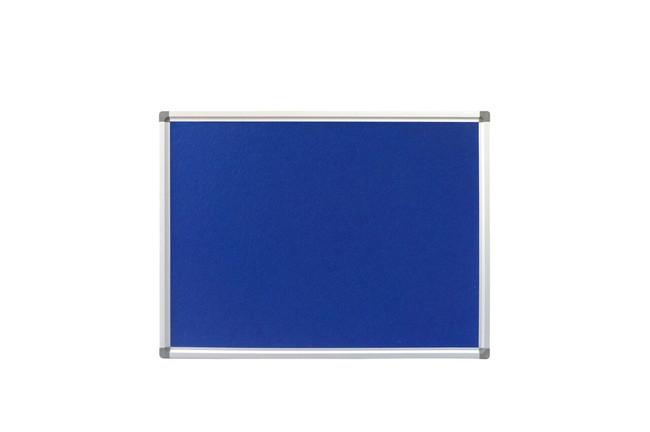 Budget Fabric Pinboard - Standard Aluminium Frame