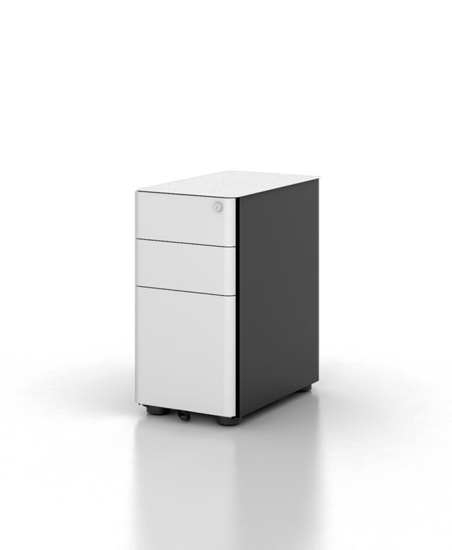 Eternity Thinline Modern Mobile Pedestal
