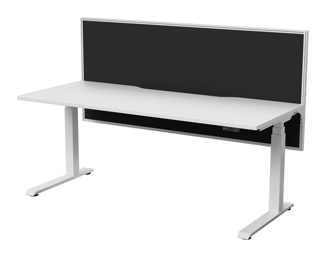 Electric Height Adjust Sit Stand Office Desks - Strata Electric + Connect 30