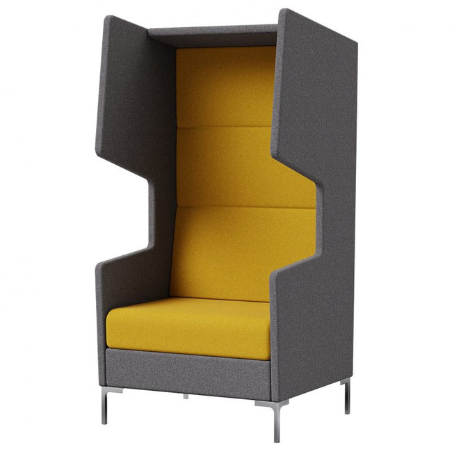 Khloe Booth Seating - Modern Collaboration Furniture