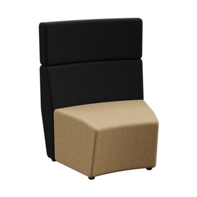 Park Outer-Curve Standard Tall Back - Modular Soft Seating