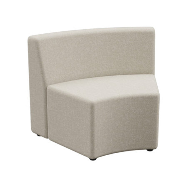 Flix 1 Seater Curved Outer Standard Back - ABW