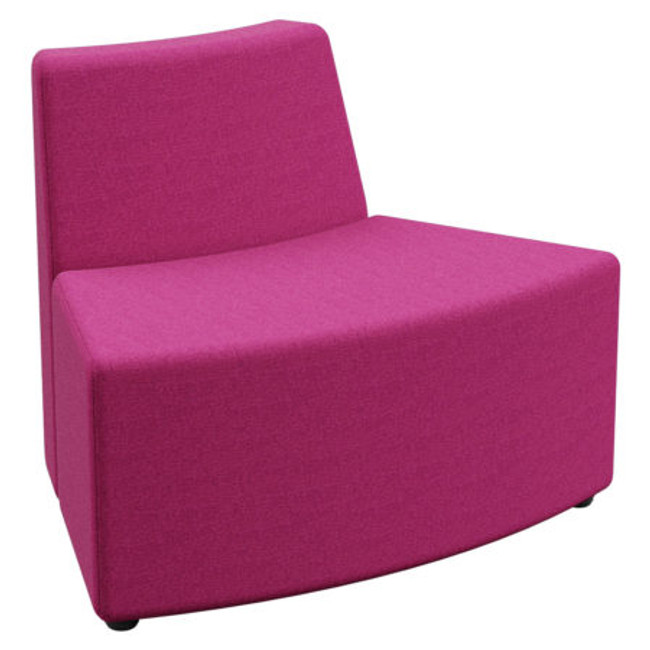 Flix 1 Seater Curved Inner Standard Back - ABW