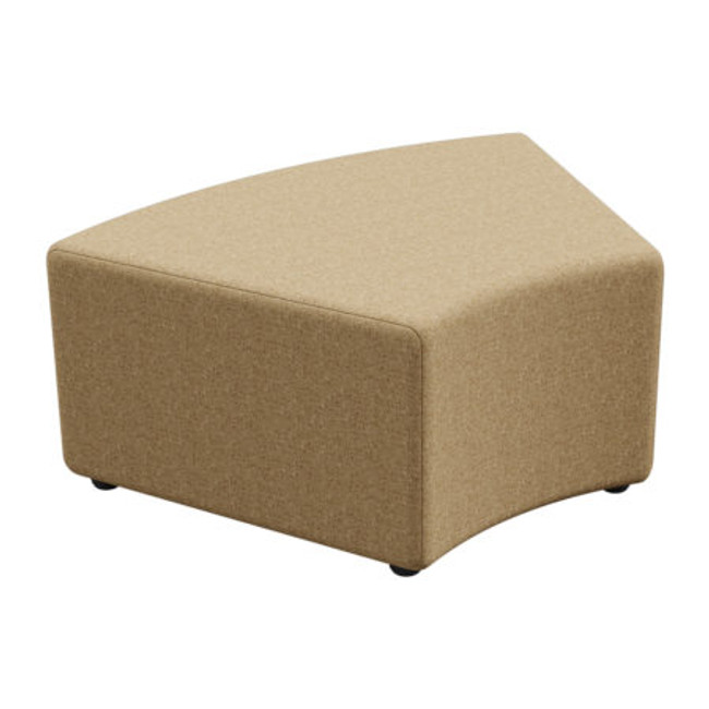 Flix Ottoman 45 and 90 Degree Curved