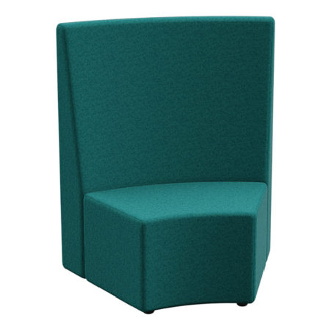 Flix 1 Seater Curved Outer Tall Back - ABW