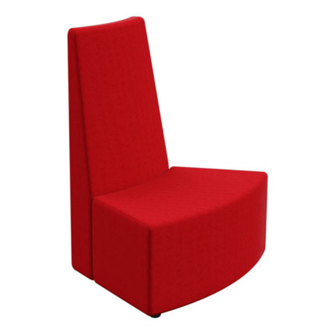 Flix 1 Seater Curved Inner Tall Back - ABW