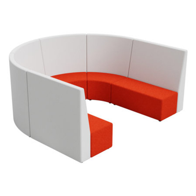 Flix Tall Huddle Collaboration Seating