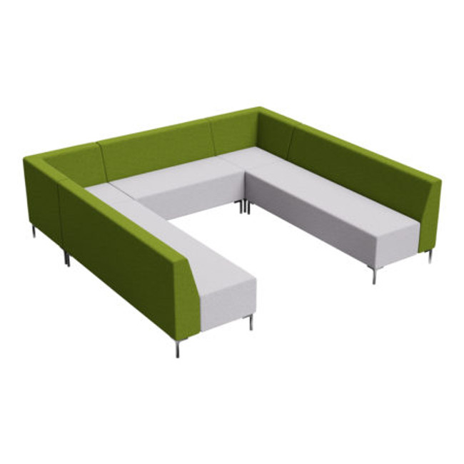 Flo 7 Seater Standard Huddle Collaborative Seating
