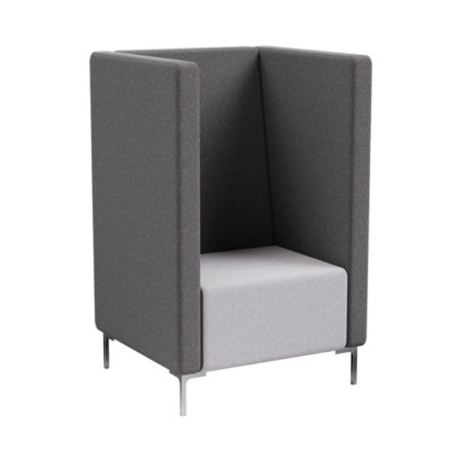 Flo Tall Back Sofa with arms - ABW Seating