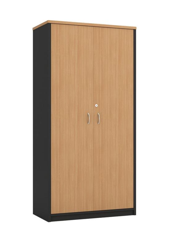 OM Full Doors Lockable Cabinet with Adjustable Shelves