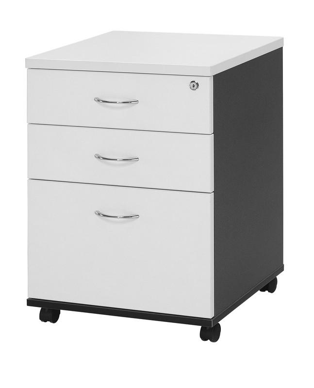 Logan Mobile Pedestal - Under Desk Storage