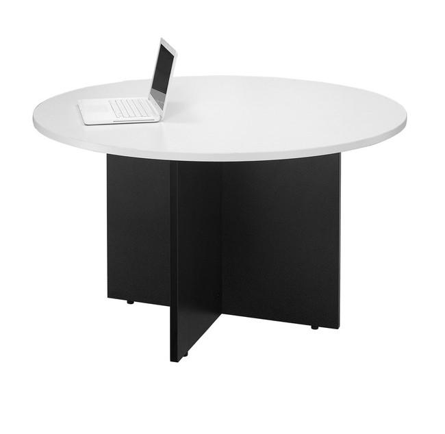 Logan Melamine Round Meeting Table