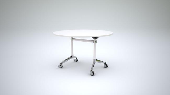 Simple Round Flip Table