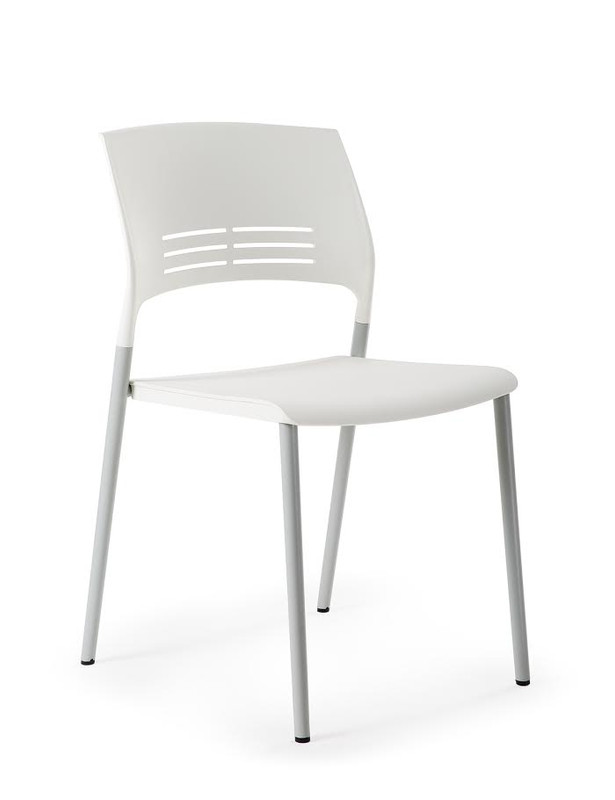 Eternia Stackable Visitor Chair - 4 Leg