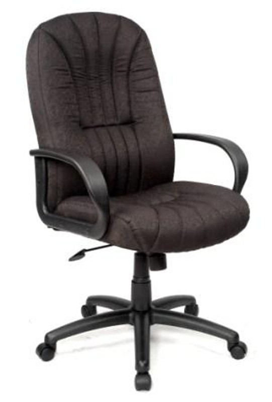 Houston Executive Office Chair - Black Fabric