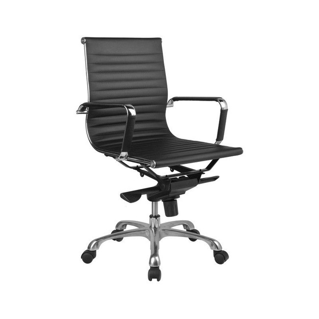 Naples PU Leather Executive Chair - High / Mid Back Options