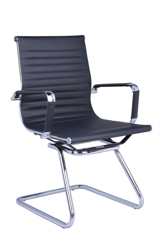 Naples PU Leather Cantilever Visitor Chair
