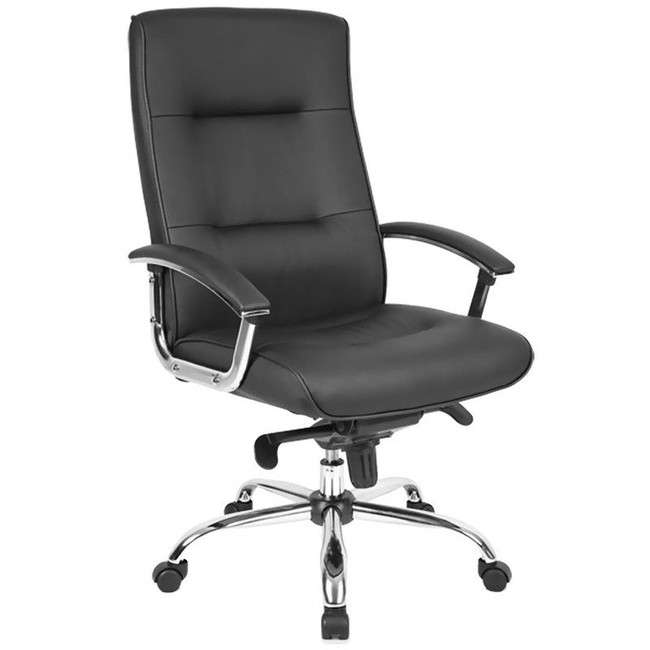 Georgia PU Leather Executive Chair - High Back