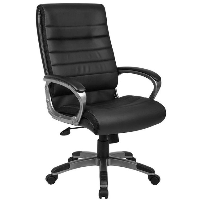 Capri PU Leather High Back Executive Office Chair