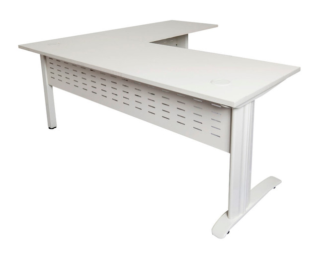 Quick Span Office Desk with Return
