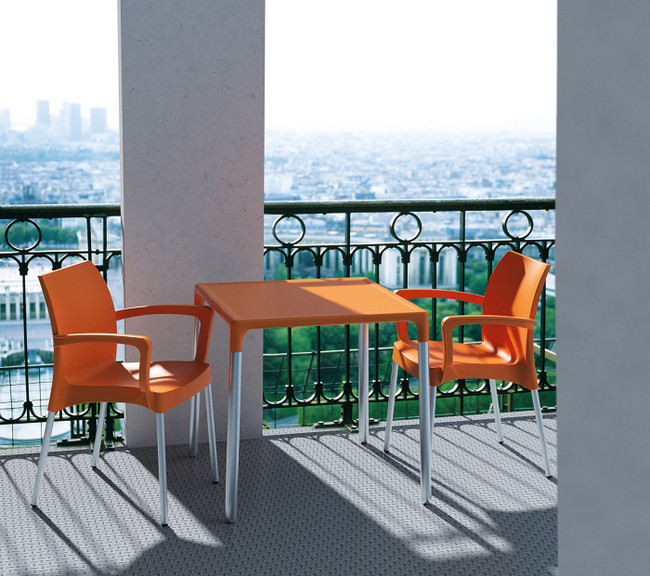 Dolce Outdoor Arm Chair - Hospitality Chairs - Stackable
