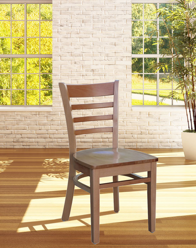 Florence Hospitality Chair Timber Seat