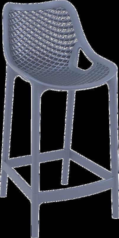 Air Modern Outdoor Bar Stool - Stackable