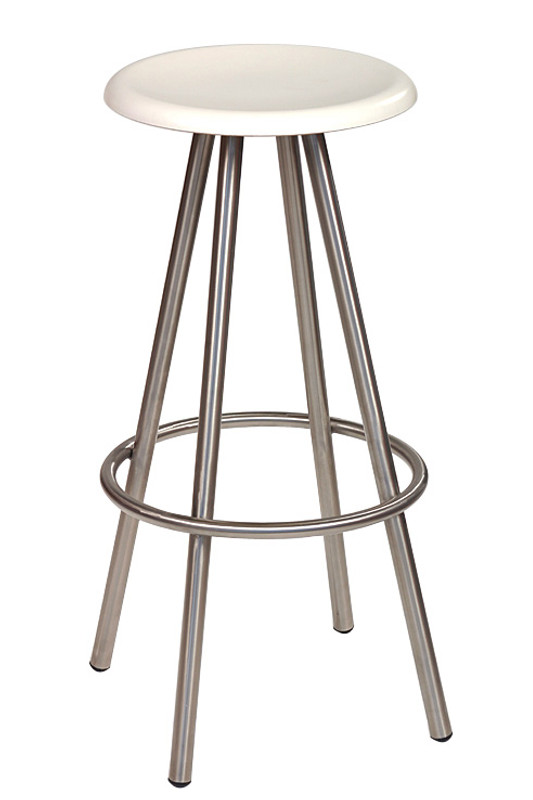 Cruza S/S Modern Outdoor Bar Stool