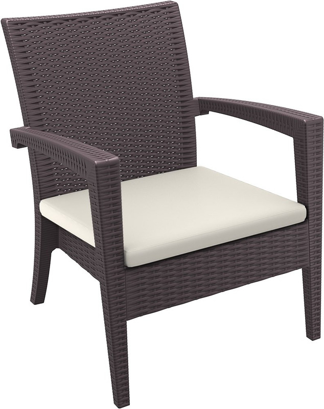 Tequila Lounge Armchair Cushion Only - Beige